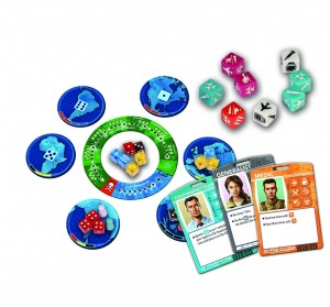 Pandemic the Cure game pieces