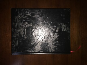My pirate edition of the book which arrived while I was at Gen Con.